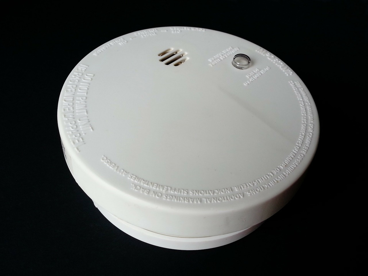 smoke detector fire alarm safety