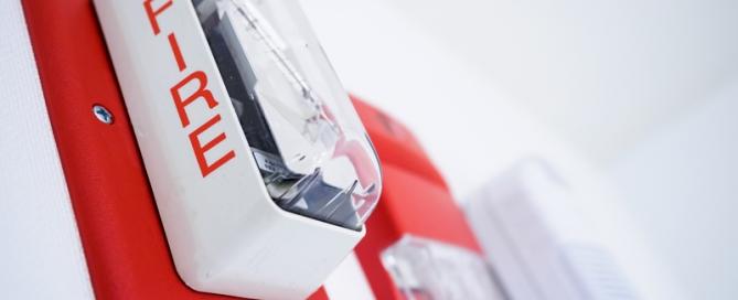 Fire alarm and smoke carbon monoxide detectors