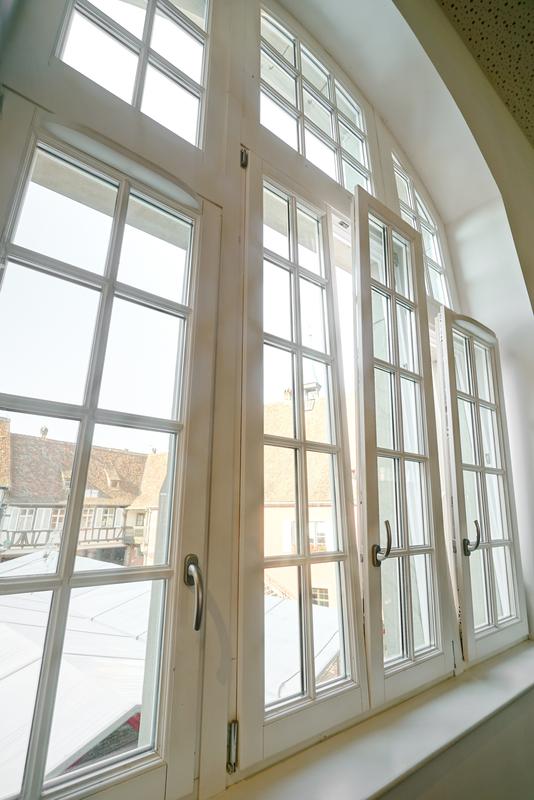 double glazed window in a house